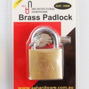 Brass Padlock 38mm