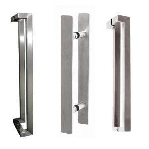 Entrance Pull Handles - Satin Stainless Steel finish